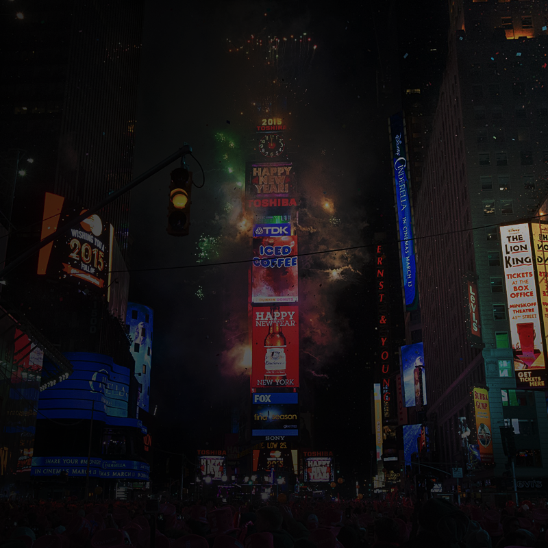 LIVE TIME SQUARE FEED